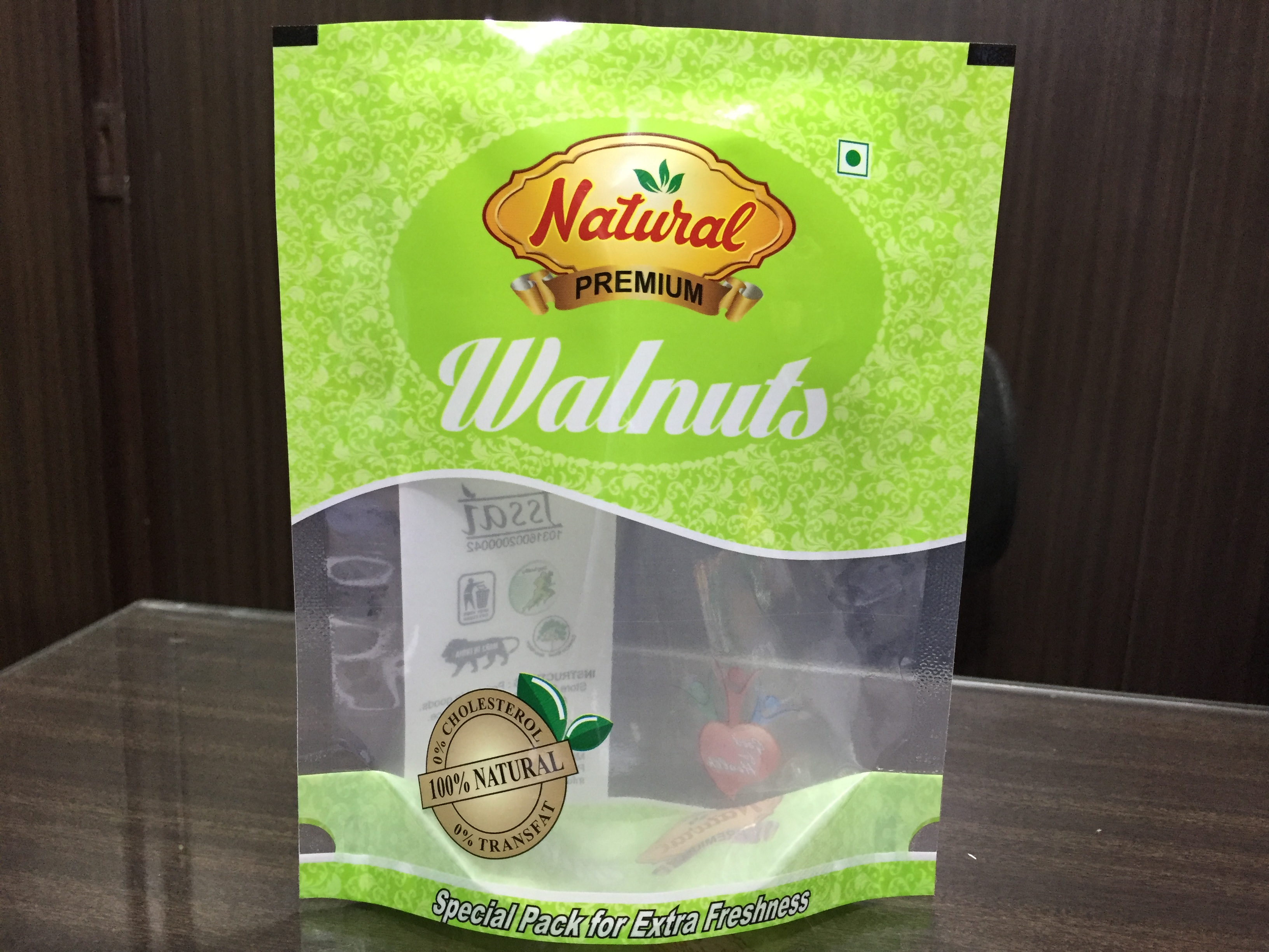 Dry fruits standup pouch